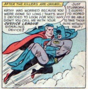 Batman and superman gay