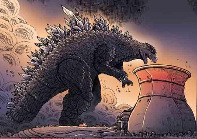 Godzilla Gay 77